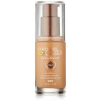 Covergirl queen collection all day flawless foundation, amber glow - 2 ea