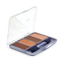 Covergirl queen collection eye shadow quad q225, desert bronze - 3 ea