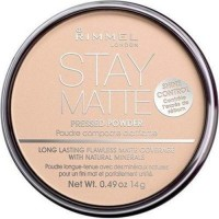 Rimmel stay matte pressed powder, creamy natural - 2 ea