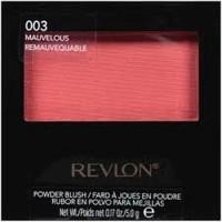 Revlon smooth on powder blush, mauvelous - 2 ea