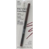 Revlon Colorstay Lipliner With SoftFlex, Chocolate - 3 ea