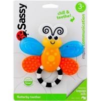 Sassy flutterby teether developmental toy - 3 ea