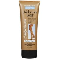 Sally hansen airbrush leg makeup medium glow - 2 ea