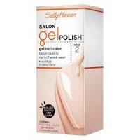 Sally hansen salon pro gel nail polish, sheer ecstasy - 2 ea