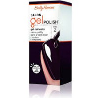 Sally hansen salon pro gel nail , pat on the black - 2 ea