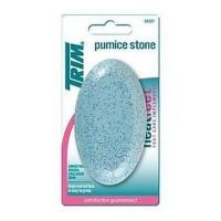 Trim gloss oval pumice stone blue - 4 ea