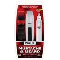 Wahl mustache and beard trimmer with bonus trimmer -2 ea