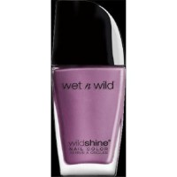 Wet n wild wild shine nail color ultra violet - 3 ea