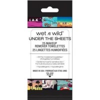 Wet n Wild Under the Sheets Makeup Remover Towelettes, Makeup Remover Wipes, 25ct - 2 ea 2 pack