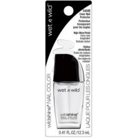 Wet n wild wild shine nail color, clear nail protector crd - 3 ea
