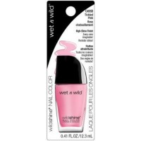 Wet n wild wild shine nail color, tickled pink - 3 ea
