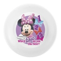 Disney minnie mouse bowl - 3 ea