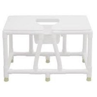 MJM International Bedside Commode, 156-FSS-36 - 1 ea