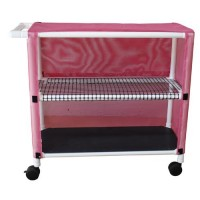 MJM international Cart With Two Ventilated Shelves, 332T-2C- 1 ea