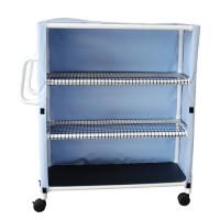 MJM international Cart With Three Ventilated Shelves, 345T-3C - 1 ea