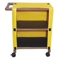 MJM international WoodTone Cart With Two Shelves, WT325-2C- 1 ea