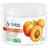 St. Ives naturally clear apricot scrub, blemish and blackhead control - 10 oz