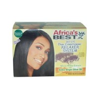 Africa's Best Regular No Lye Conditioning Relaxer System Regular - 2 ea
