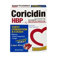 Coricidin hbp chest congestion and cough non-drowsy liqui-gels - 20 ea