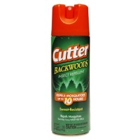 Cutter backwoods insect repellent aerosol 25% deet - 6 oz