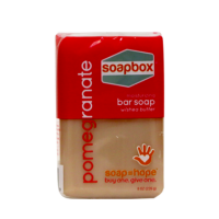 Soapbox bar soap, pomegranate - 8 oz