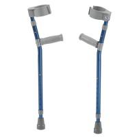 Drive Medical pediatric forearm crutches, medium, wizard purple, pair - 1 ea