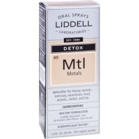 Liddell laboratories detox metals homeopathic oral spray - 1 oz