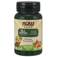 Now Foods G.I. Support Chewables for Dogs and Cats - 90 ea