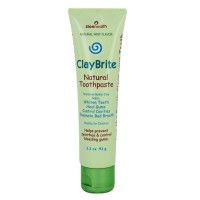 Zion health claybrite extra natural mint toothpaste - 3.2 oz