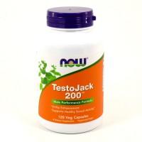 Now foods testojack 200 veg capsules - 120 ea