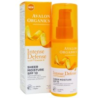 Avalon organics intense defense with vitamin c spf 10  -  1.7 oz
