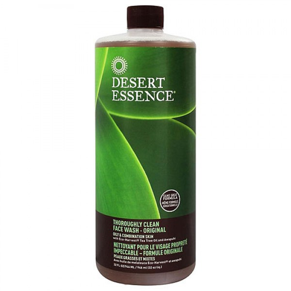 Desert Essence Thoroughly Clean Face Wash For Oily And